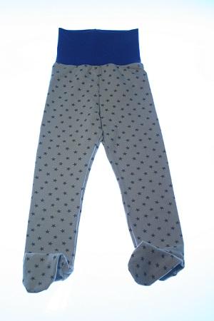 Økologiske bukser graa stjerner