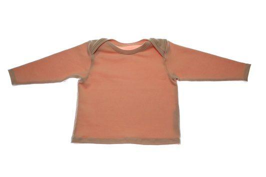 Økologisk bluse lyserød.