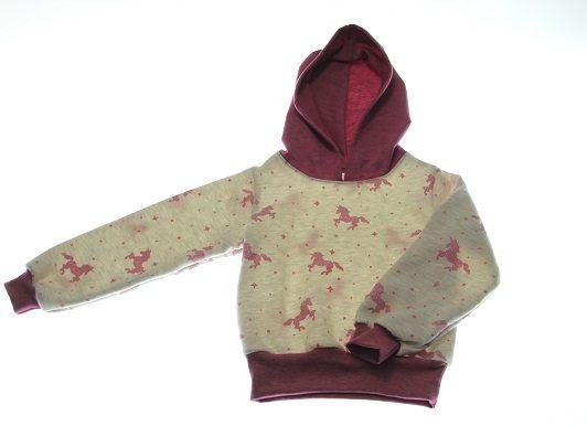 Sweatshirt-enhjørning-104-