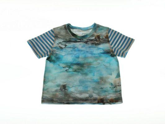 T-shirt isbjørne-92