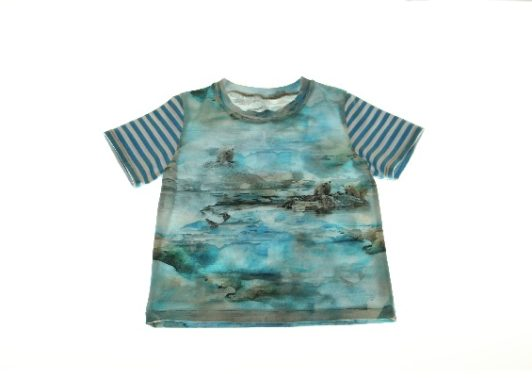 T-shirt-isbjørne-98-