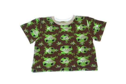 Økologisk-T-shirt-froe-80-86-