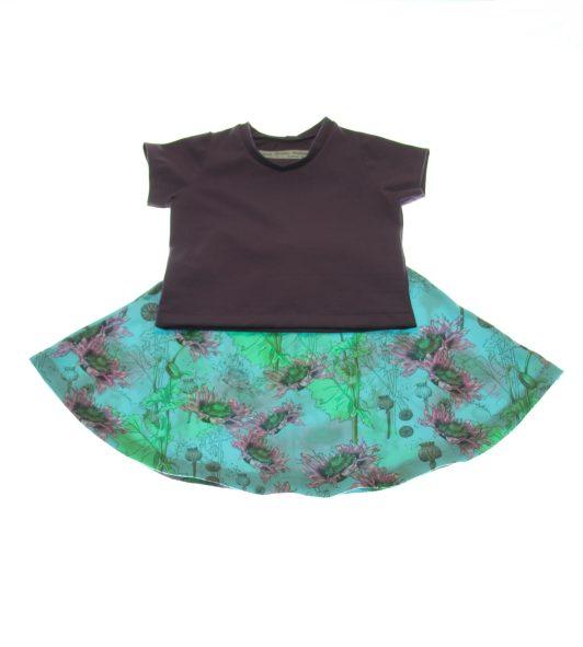 Økologisk-nederdel-valmue-bluse-92