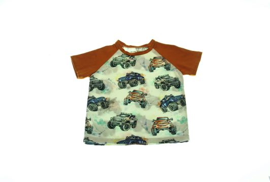 Økologisk-T-shirt-Monster-Truck-92-